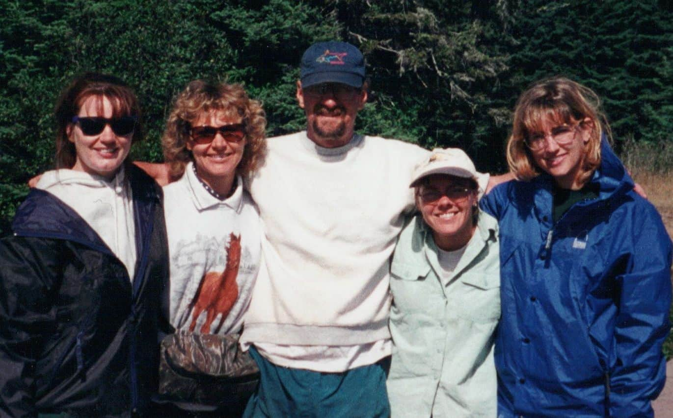 Amy with small Isle Royale group